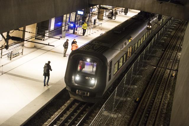 Sales of commuter tickets between Denmark and Sweden drop