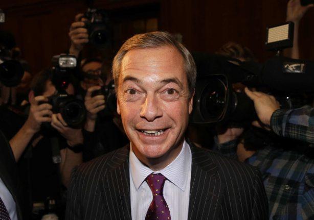 UK watchdog probes Nigel Farage over Sweden rape comments
