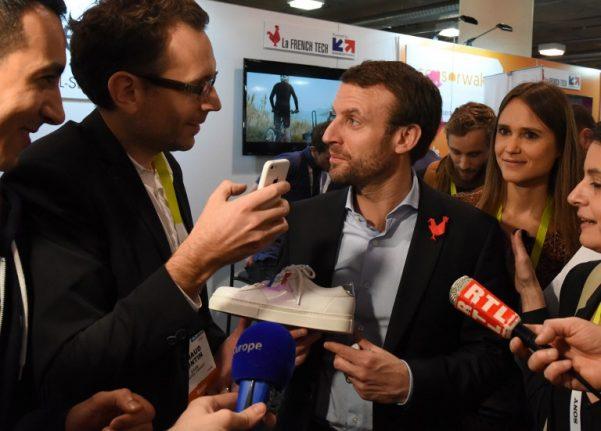 French probe opened into Emmanuel Macron's Las Vegas trip
