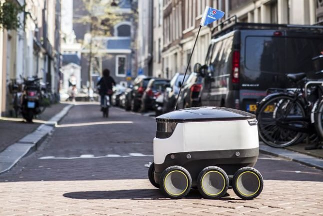 Domino's Pizza to start robot delivery in Germany