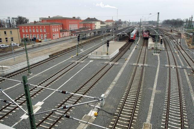 Two 'racist' men jailed for leaving beaten Pakistani on train tracks