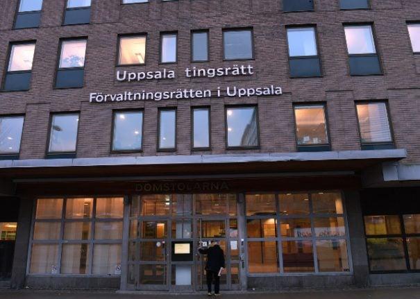 Three men charged over Uppsala 'Facebook rape video'
