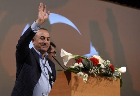 Turkish FM slams 'fascist' Netherlands from 'serene' France