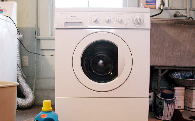 French couple charged after 'rocking' baby in a washing machine