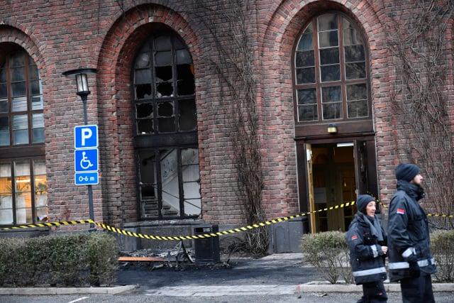 Man dies after Stockholm City Hall car crash