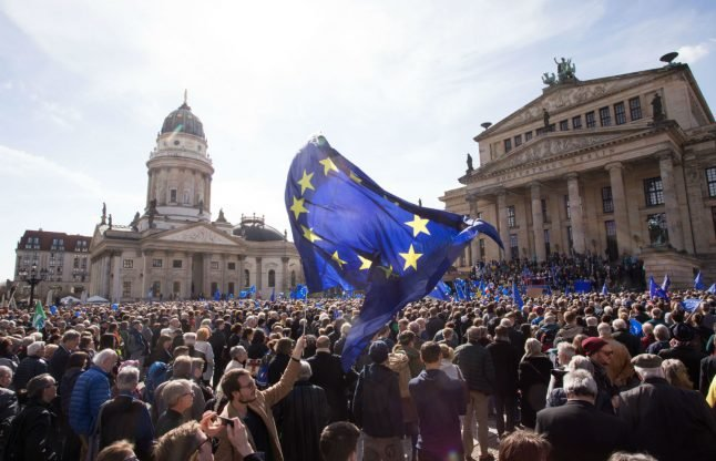 How a street movement to save the EU is starting in Germany