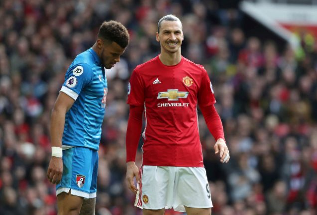 Zlatan banned for three games after admitting violent conduct