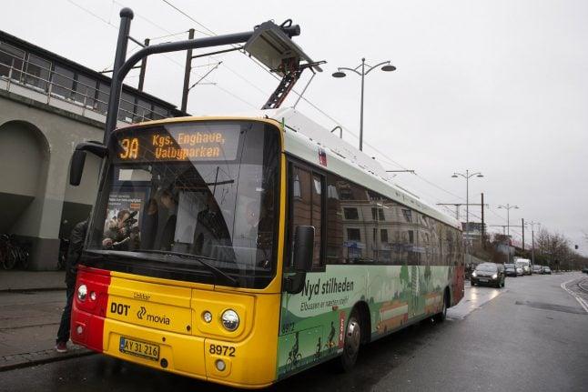 Copenhagen bans 'polluting' buses
