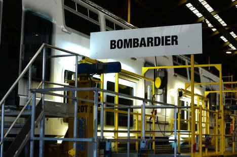 Sweden detains Russian Bombardier employee in bribery probe
