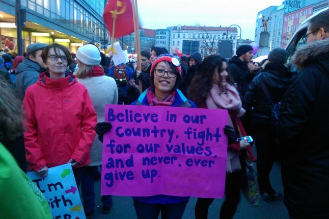 Thousands march in Women's Day demos in Germany