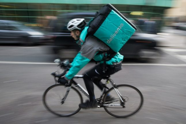 France's delivery bike riders now have their own union