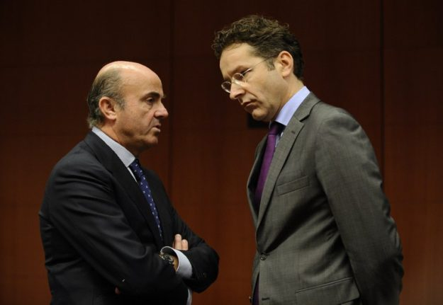 Spain's economy minister rules himself out of the running for Eurogroup presidency