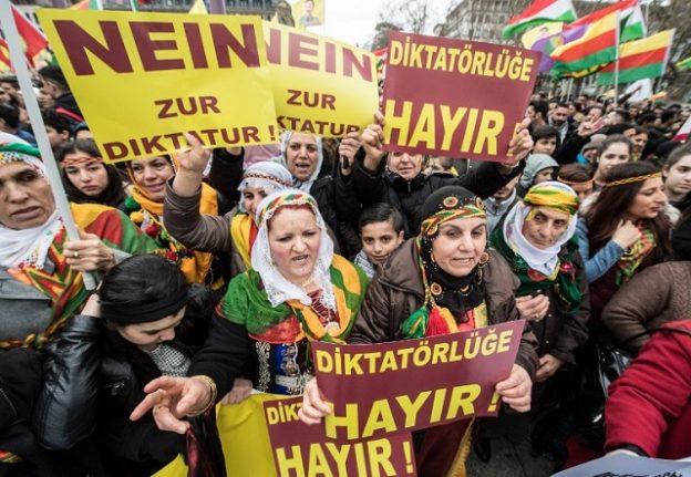 Turkey fumes over Kurdish rally in Frankfurt