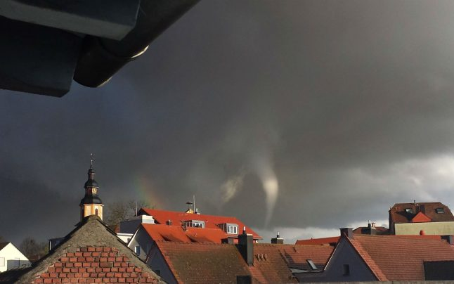 WATCH: Tornado hits north Bavaria, damaging dozens of houses