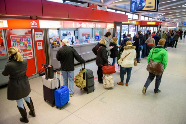 Hundreds of flights cut as Berlin airport strike extends to Wednesday
