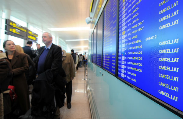 French air traffic control strike causes cancellations and flight delays in Spain
