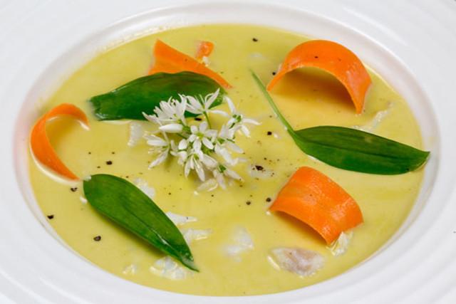 Recipe: How to make Swedish fish soup with wild garlic