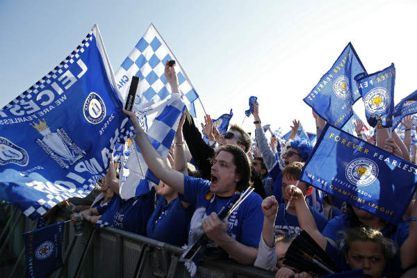 Leicester City 'hooligans' arrested ahead of Madrid Champions League clash