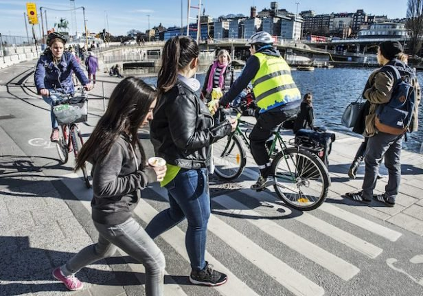 Injuries on the rise as cyclists and pedestrians clash