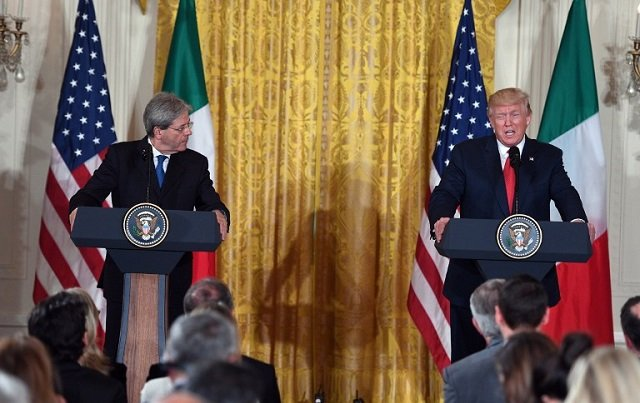 Trump: Italy will 'pay up' for NATO