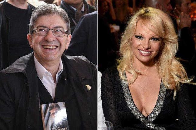 Pamela Anderson joins international celeb support for Mélenchon