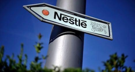 Nestlé sales go flat in first quarter