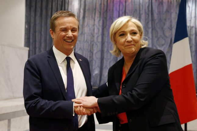 Le Pen announces eurosceptic French PM pick, if she wins election