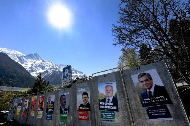 France's presidential election candidates begin the final push