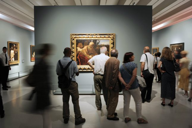 Hidden Michelangelo drawing goes on show in Rome