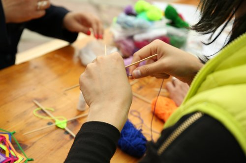 Madrid school in sexism row over knitting for girls and football for boys
