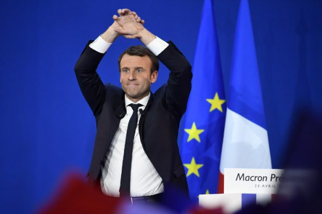 Macron the 'patriot' vows to battle threat of nationalist Le Pen