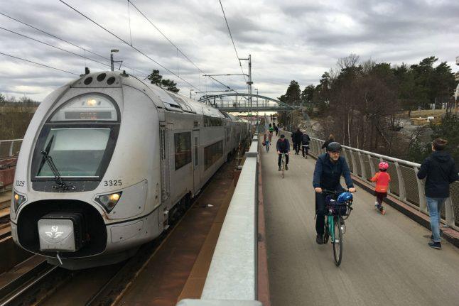 Man stabbed on board Swedish train