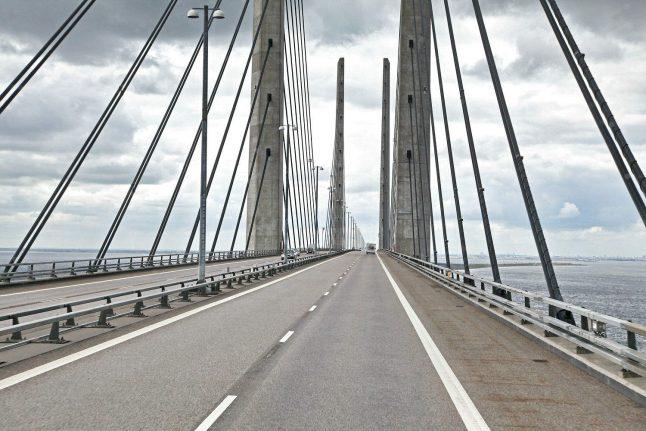 Car drove 15 km wrong way on Øresund bridge without crashing