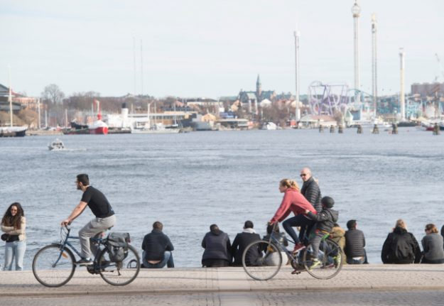 Swedes worry about climate change and terrorism but not about war: poll