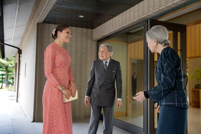 Sweden's Crown Princess Victoria on solo trip in Japan