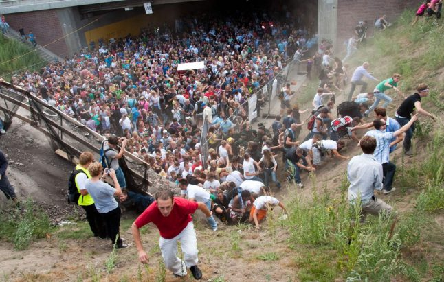Ten face new trial over negligence in fatal Love Parade stampede