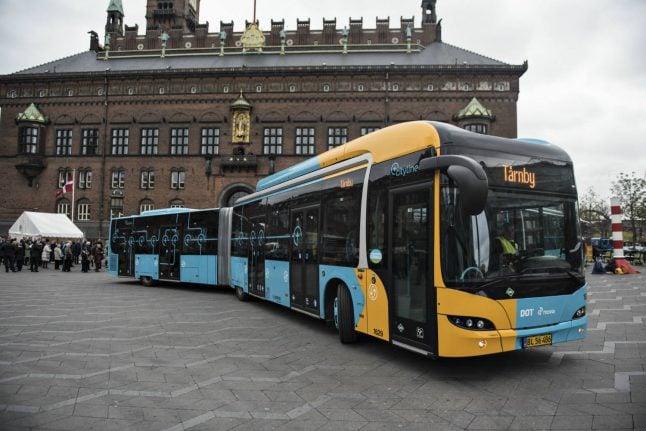 Iconic Copenhagen bus service gets CO2 neutral replacement