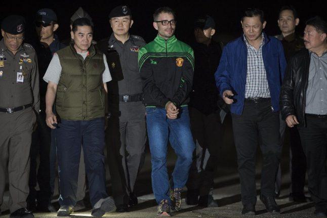 Thai court sentences Spanish man to death for grisly murder