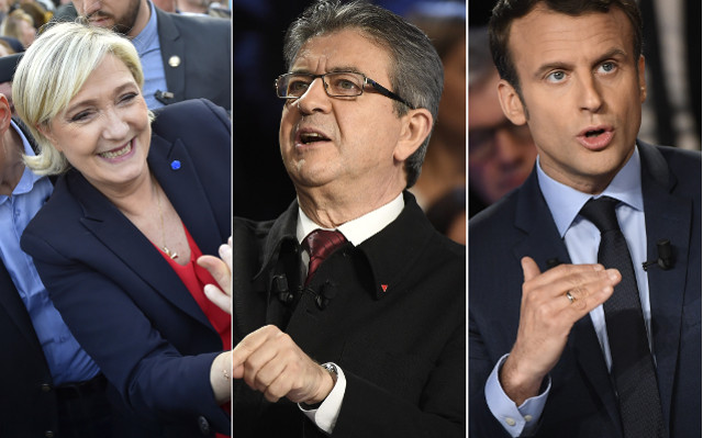 French presidential challengers hold rival Paris rallies (and a canal cruise)