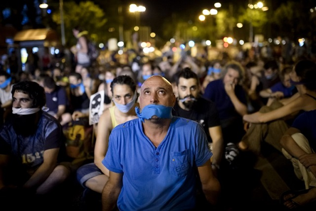 ANALYSIS: 'Spain's freedom of speech repression is no joke'