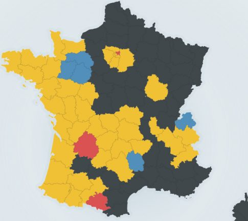 RESULTS: Full breakdown of how France voted in the first round
