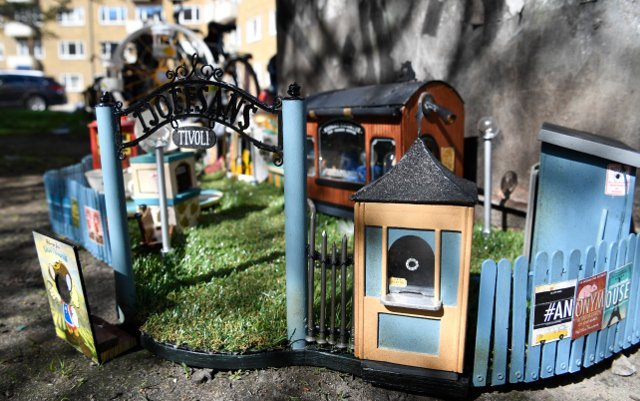 In pictures: Malmö's famous mini street art gets new mouse-sized attraction