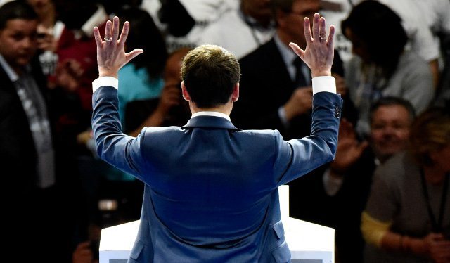 Emmanuel Macron is well on course to pull off his 'crazy gamble'