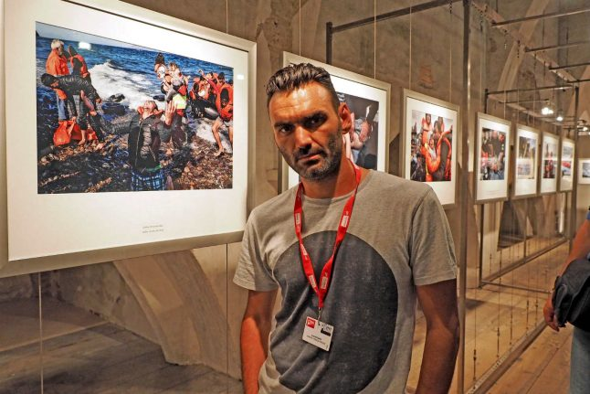 Milan exhibition highlights migrant odyssey