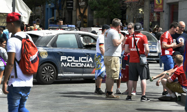Spanish police boost security ahead of Bayern-Real Madrid match