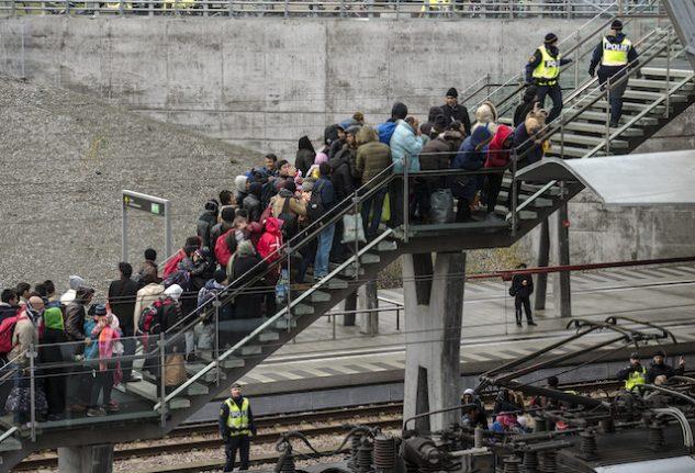 Sweden's asylum seeker forecast on track for 2017