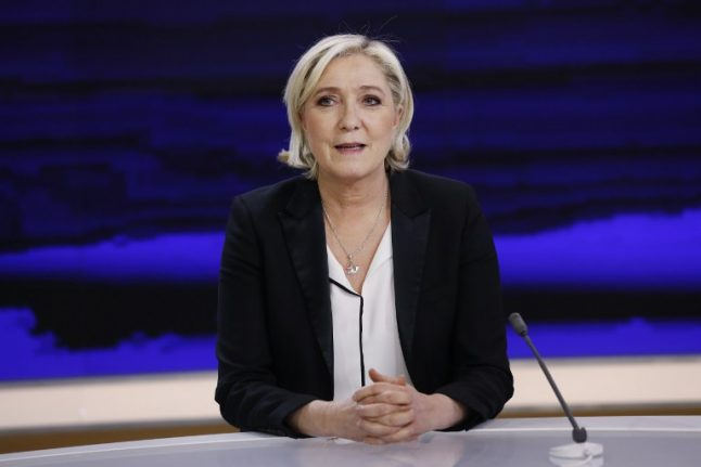 Le Pen steps aside as head of National Front in bid to woo more voters