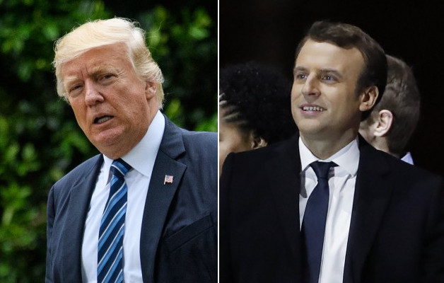 Macron set for first meeting with US President Trump