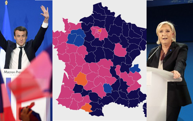 A deeply divided France: A look at Marine Le Pen's and Emmanuel Macron's voters