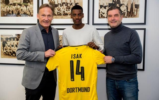 AIK fined over transfer of Swedish wonderkid Isak to Dortmund